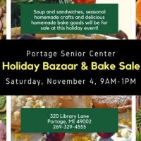 Holiday Bazaar & Bake Sale