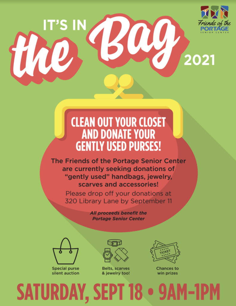 It's in the bag 2021 flyer with details